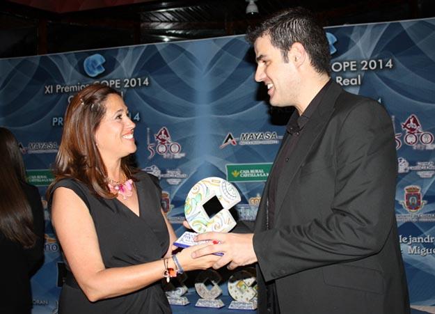 Alejandro de Miguel Premio Popular 2013 Ciudad Real