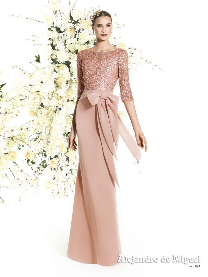 Vestidos de madrina de boda largos 2019