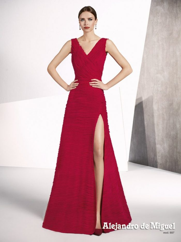 Modelos de vestidos de fiesta para senoras