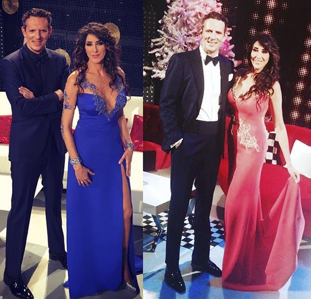 Paz Padilla vestidos noche en paz Telecinco