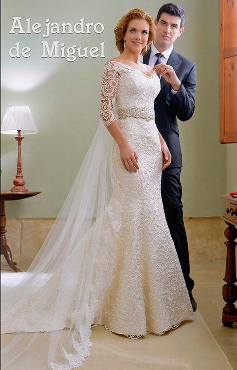 trajes de novia Alejandro de Miguel