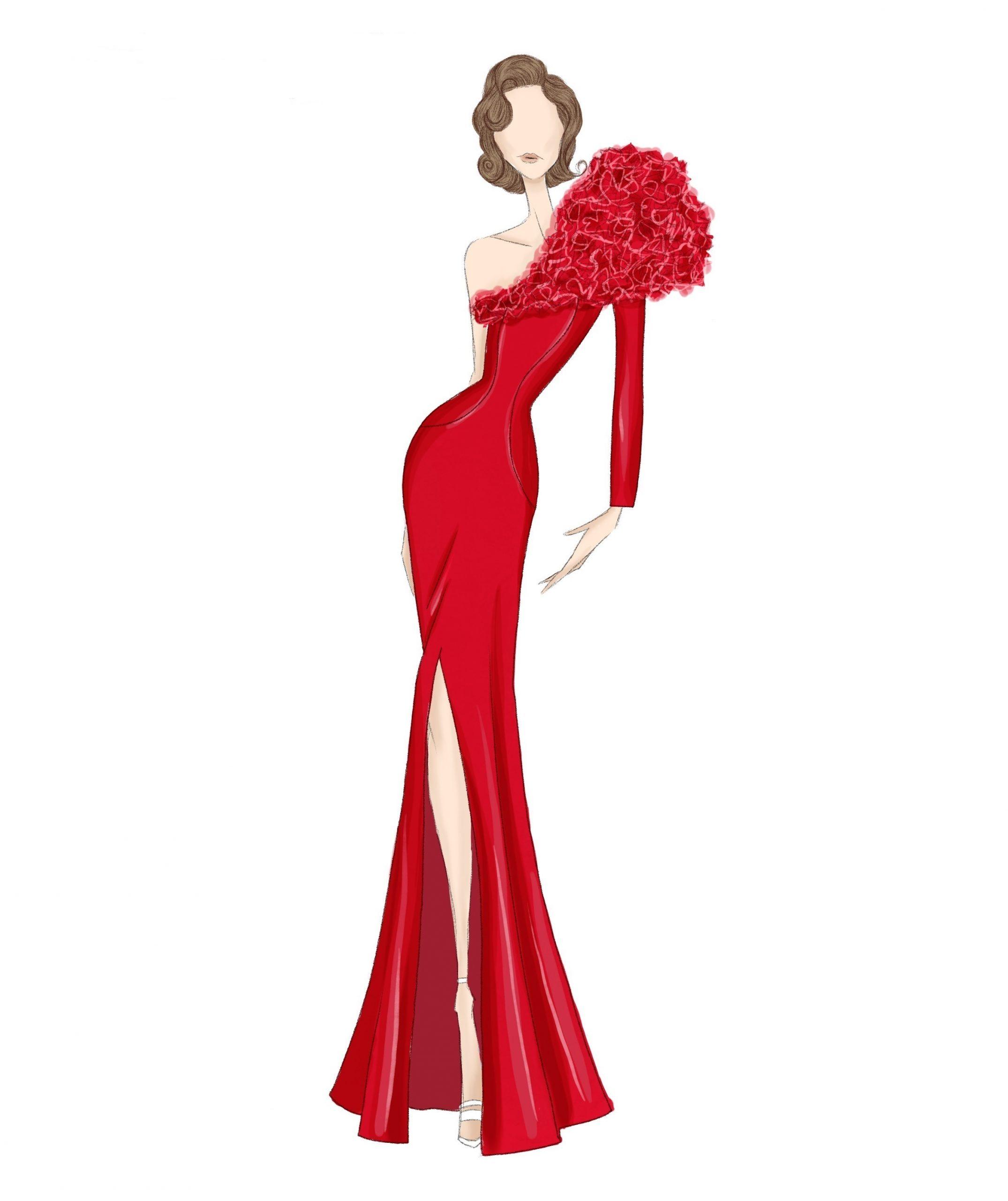 Vestido-rojo-abertura-