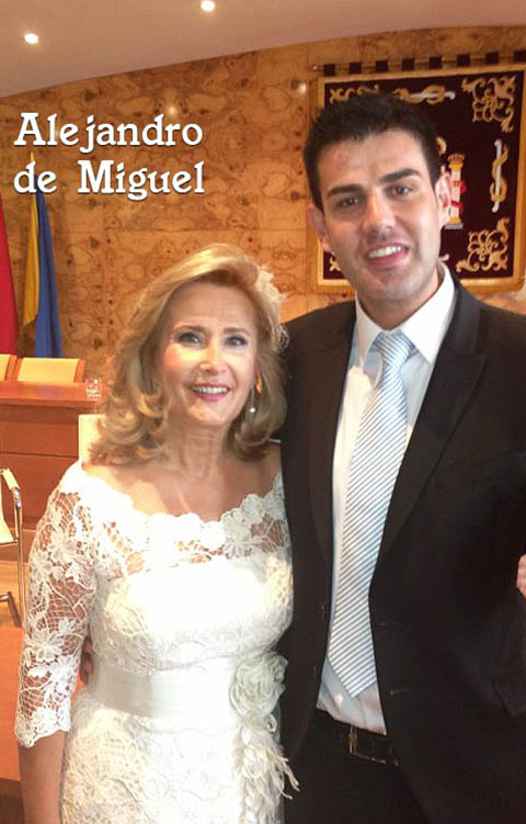 vestidos novias Alejandro de Miguel